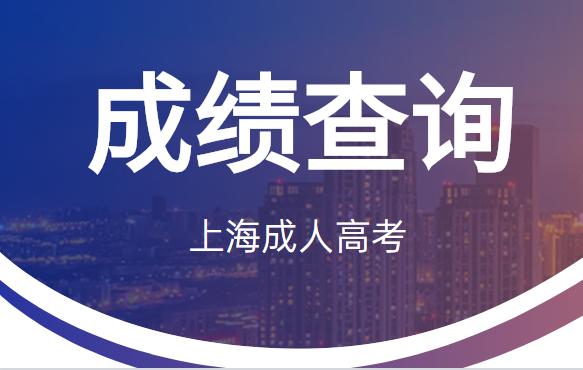2020年上海成人高考考试成绩11月12日14时可查